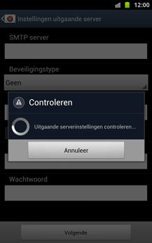 Samsung N7000 Galaxy Note - OS 4 ICS - E-mail - handmatig instellen - Stap 16