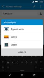 HTC Desire 820 - Contact, Appels, SMS/MMS - Envoyer un MMS - Étape 15