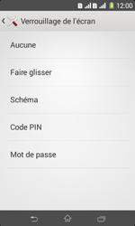 Sony Xpéria E1 Dual - Sécuriser votre mobile - Activer le code de verrouillage - Étape 6