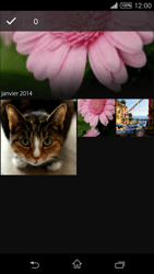 Sony Xpéria T3 - Photos, vidéos, musique - Envoyer une photo via Bluetooth - Étape 6