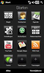 HTC T7373 Touch Pro II - Instellingen - Instellingen wizard - Stap 3