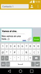 LG Leon - Mensajería - Escribir y enviar un mensaje multimedia - Paso 12