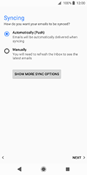 Sony Xperia XZ2 Compact - E-mail - Manual configuration (outlook) - Step 14
