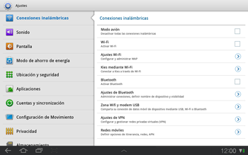 Samsung P7500 Galaxy Tab 10-1 - Red - Seleccionar una red - Paso 4