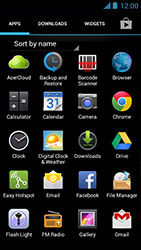 Acer Liquid Z5 - Email - Manual configuration - Step 3