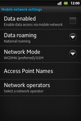Sony ST27i Xperia Go - Internet - Manual configuration - Step 6