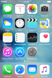 Apple iPhone 4 S iOS 9 - WiFi en Bluetooth - Handmatig instellen - Stap 1