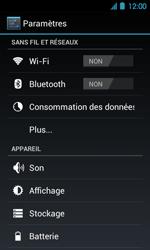 Acer Liquid Glow E330 - Internet - Activer ou désactiver - Étape 4