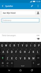 HTC Desire 816 - MMS - afbeeldingen verzenden - Stap 10