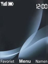 Nokia 6303 classic - Internet - Handmatig instellen - Stap 1