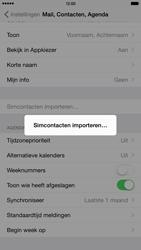 Apple iPhone 6 Plus (Model A1524) - Contacten en data - Contacten kopiëren van SIM naar toestel - Stap 5