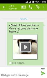 Alcatel U3 - Contact, Appels, SMS/MMS - Envoyer un MMS - Étape 20