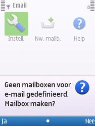 Nokia C5-00 - E-mail - handmatig instellen - Stap 5
