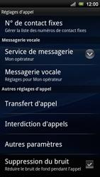 Sony Ericsson Xperia Neo V - Messagerie vocale - configuration manuelle - Étape 6