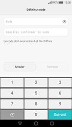 Huawei Nova - Sécuriser votre mobile - Activer le code de verrouillage - Étape 7