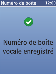 Nokia C2-05 - Messagerie vocale - Configuration manuelle - Étape 8