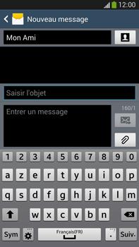 Samsung Galaxy Note 3 - Contact, Appels, SMS/MMS - Envoyer un MMS - Étape 11