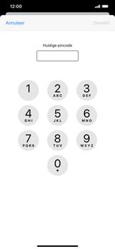 Apple iphone-xr-met-ios-13-model-a1984 - Beveiliging en ouderlijk toezicht - Hoe wijzig ik mijn SIM PIN-code - Stap 6
