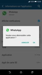 HTC Desire 626 - Applications - Supprimer une application - Étape 7