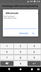 Sony Xperia XZ1 (G8341) - Beveiliging en ouderlijk toezicht - Hoe wijzig ik mijn SIM PIN-code - Stap 7