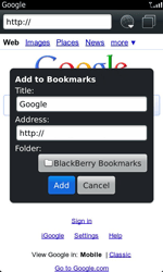 BlackBerry 9860 Torch - Internet - Internet browsing - Step 5