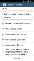 Samsung I9195 Galaxy S IV Mini LTE - E-mail - Configuration manuelle (outlook) - Étape 9