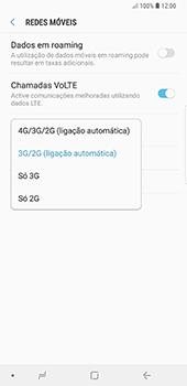 Samsung Galaxy Note 8 - Android Oreo - Internet no telemóvel - Como ativar 4G -  7
