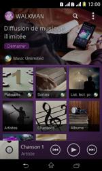 Sony Xpéria E1 Dual - Photos, vidéos, musique - Ecouter de la musique - Étape 4