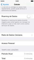 Apple iPhone iOS 7 - Internet (APN) - Como configurar a internet do seu aparelho (APN Nextel) - Etapa 5