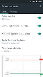 HTC 10 - Internet - Ver uso de datos - Paso 11