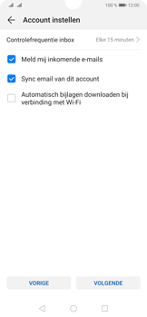 Huawei P30 - E-mail - Handmatig instellen (yahoo) - Stap 8