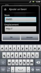 Sony Ericsson Xperia Arc S - Internet - navigation sur Internet - Étape 9