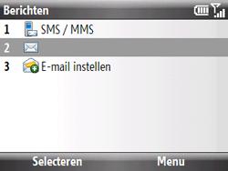 HTC S521 Snap - E-mail - Hoe te versturen - Stap 4