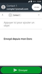 Doro 8035 - E-mail - Envoi d