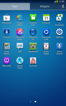 Samsung T315 Galaxy Tab 3 8-0 LTE - Network - Usage across the border - Step 3