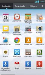 LG E975 Optimus G - E-mail - e-mail instellen: POP3 - Stap 3