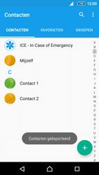 Sony Xperia Z5 (E6653) - Contacten en data - Contacten kopiëren van toestel naar SIM - Stap 10