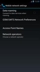 Acer Liquid E2 - Network - Usage across the border - Step 6
