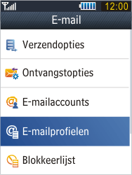 Samsung B3410 Star Qwerty - E-mail - Handmatig instellen - Stap 7