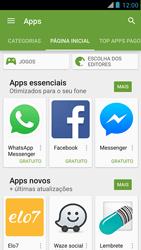 Motorola XT910 RAZR - Aplicativos - Como baixar aplicativos - Etapa 5