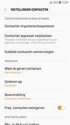 Samsung Galaxy S7 - Android N - Contacten en data - Contacten kopiëren van toestel naar SIM - Stap 6