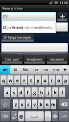 Sony Ericsson MT11i Xperia Neo V - E-mail - hoe te versturen - Stap 6
