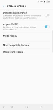 Samsung Galaxy S8 Plus - Android Oreo - Internet - Désactiver du roaming de données - Étape 7