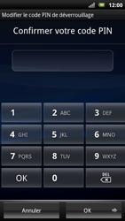 Sony Ericsson Xpéria Arc - Sécuriser votre mobile - Activer le code de verrouillage - Étape 10