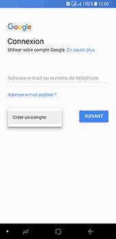 Samsung Galaxy A8 (2018) - Applications - Créer un compte - Étape 5