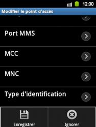 Samsung S5360 Galaxy Y - Internet - configuration manuelle - Étape 11