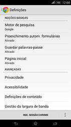 Sony Xperia E4 - Internet no telemóvel - Como configurar ligação à internet -  23