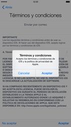 Apple iPhone 6 Plus iOS 8 - Primeros pasos - Activar el equipo - Paso 16