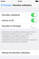 Apple iPhone 4 S iOS 9 - Internet - Activer ou désactiver - Étape 4