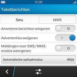BlackBerry Q5 - MMS - probleem met ontvangen - Stap 8